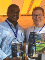 Image of Author and Larry Copeland Decatur Book Festival