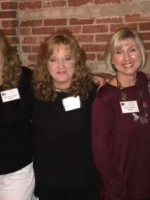 Image of Author with Friends at Forest Park 40th High School Reunion