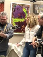 Image of 2018 Trio Three Singing at BEX